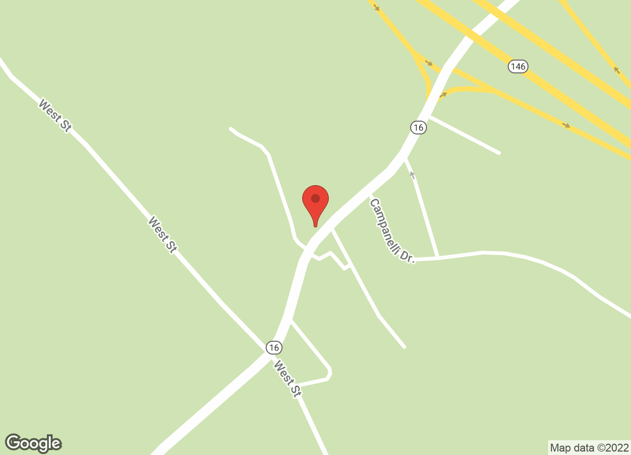 Google Map of VCA Blackstone Valley Animal Hospital