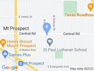 Map of Pet Sitters of Mt Prospect Dog Boarding options in Mount Prospect | Boarding