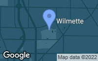 Map of Wilmette, IL