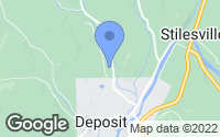 Map of Deposit, NY