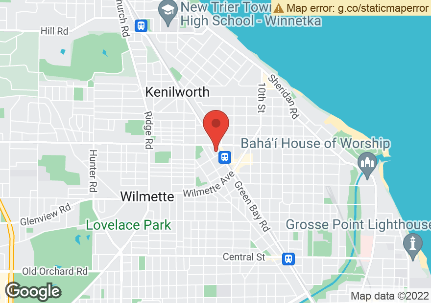 Google Map of 811 GREEN BAY RD