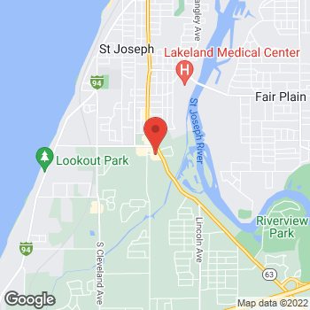 Map of Check `n Go at 2080 Niles Road, Saint Joseph, MI 49085