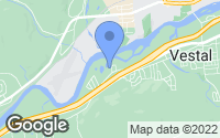 Map of Vestal, NY