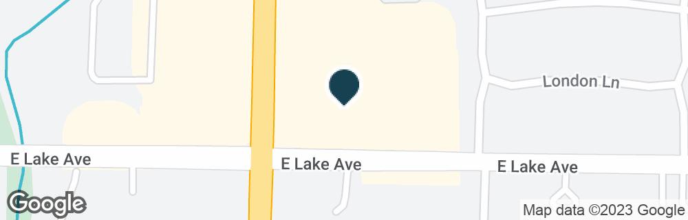 Google Map of1403 WAUKEGAN RD