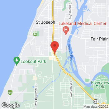 Map of Check `n Go Niles Road at 2080 Niles Road, Saint Joseph, MI 49085