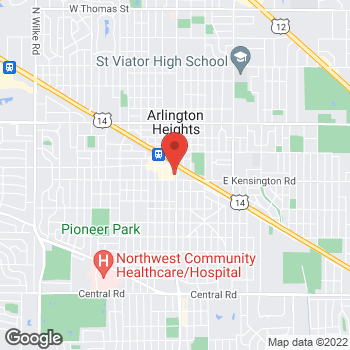 Map of Noodles & Company at 66 S. Arlington Heights Road, Arlington Heights, IL 60005
