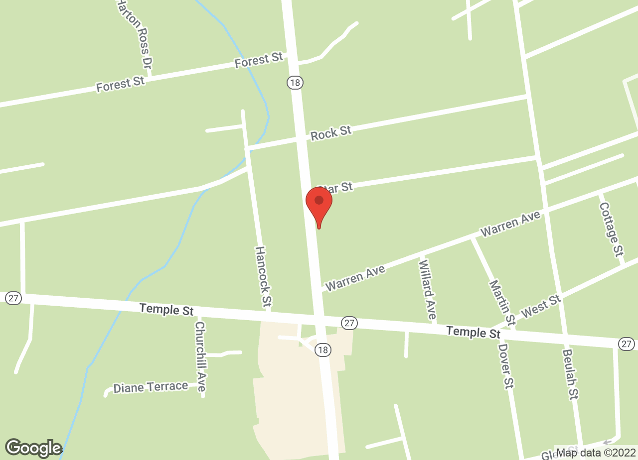 Google Map of VCA Whitman Animal Hospital