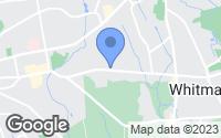 Map of Whitman, MA