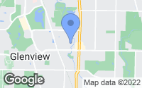 Map of Glenview, IL