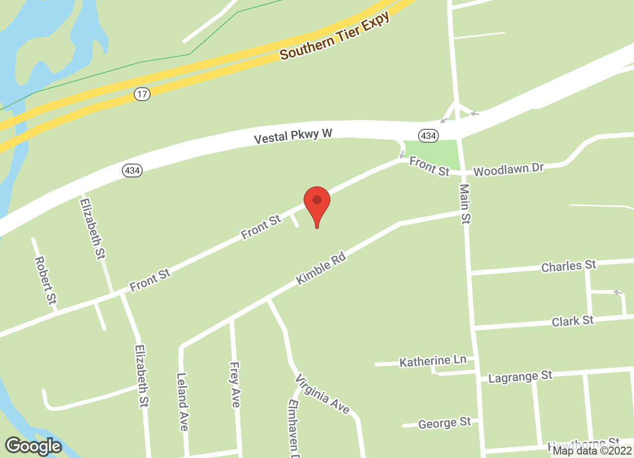 Google Map of VCA Southern Tier Animal Hospital