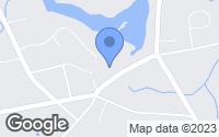 Map of Hanson, MA