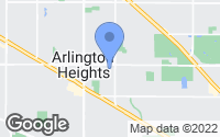 Map of Arlington Heights, IL