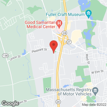 Map of Leslie Stefanowicz, NP at 35 Pearl Streetsuite 300, Brockton, MA 02301