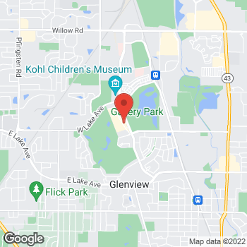 Map of Noodles & Company at 1851 Tower Drive, Glenview, IL 60026