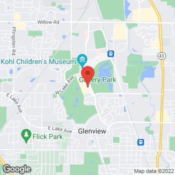 Map of Verizon Authorized Retailer – TCC at 1825 Tower Road, Glenview, IL 60026