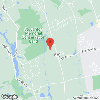 Map of Molly Winiecki, PA at 31 Roche Brothers Way, North Easton, MA 02356