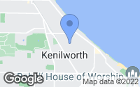 Map of Kenilworth, IL