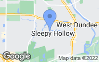 Map of Sleepy Hollow, IL