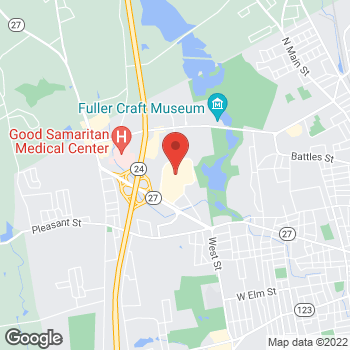 Map of location-map at 200 Westgate Drive, Brockton, MA 02301
