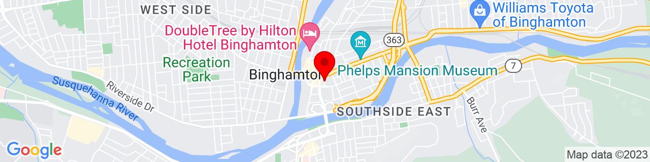 Google Map of 42.0977907, -75.9116252