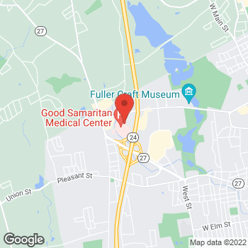 Map of Zwi Hoch, MD at 830 Oak Streetsuite 102W, Brockton, MA 02301