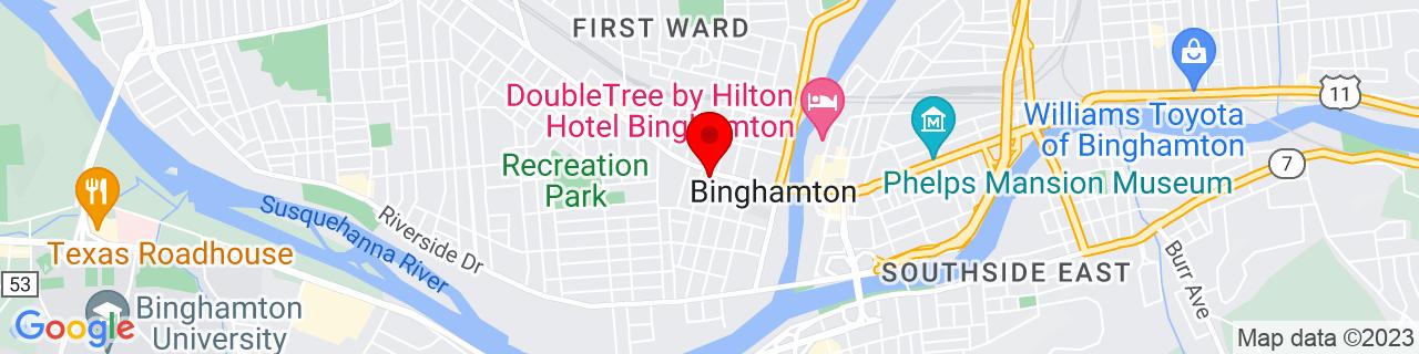 Google Map of 42.099459, -75.922905