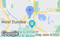 Map of East Dundee, IL