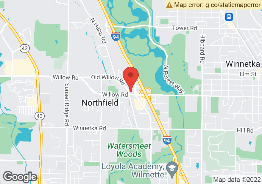 Google Map of 1825 WILLOW RD