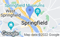 Map of Springfield, MA
