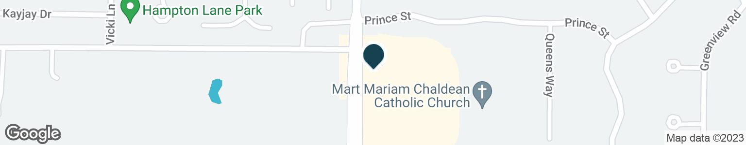 Google Map of2871 PFINGSTEN RD