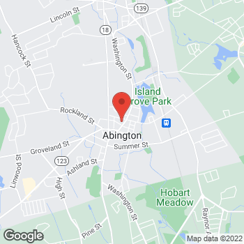 Map of Haythum Tayeb, MD at 536 Washington Street, Abington, MA 02351