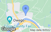 Map of Owego, NY