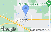 Map of Gilberts, IL