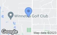 Map of Winnetka, IL