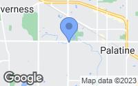 Map of Palatine, IL