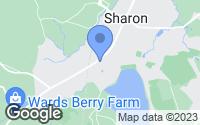Map of Sharon, MA