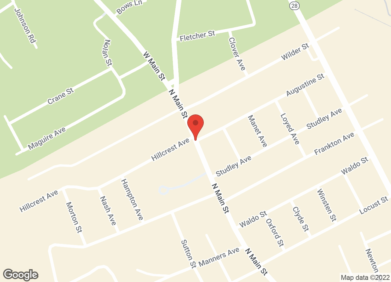 Google Map of VCA North Main Street Veterinary Clinic