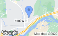 Map of Endwell, NY