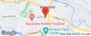 Map of 30 Court St in Westfield