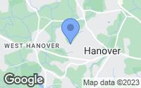 Map of Hanover, MA