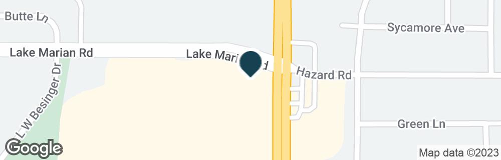 Google Map of399 LAKE MARIAN RD
