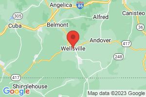 Map of Wellsville