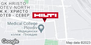 Get directions to Hilti магазин Пловдив
