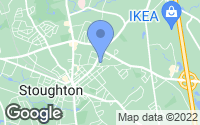 Map of Stoughton, MA
