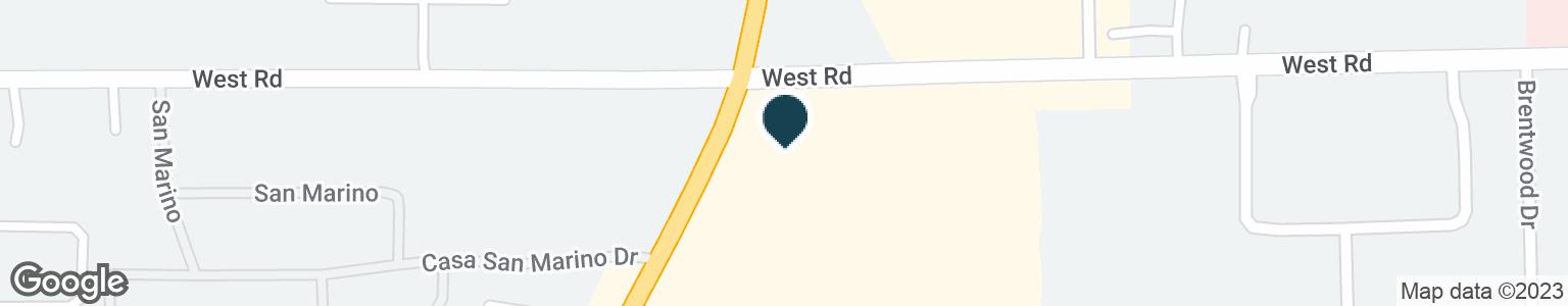 Google Map of23007 TELEGRAPH RD