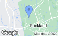 Map of Rockland, MA