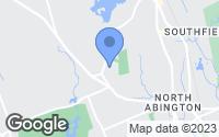Map of Abington, MA
