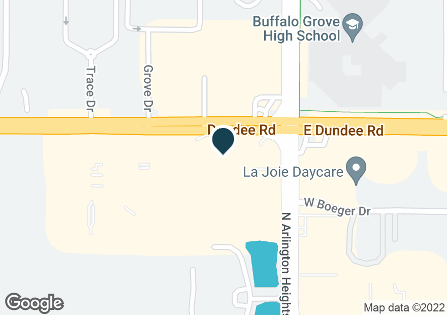 Google Map of1225 W DUNDEE RD