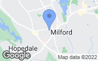 Map of Milford, MA
