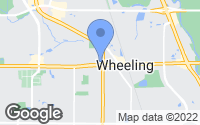 Map of Wheeling, IL